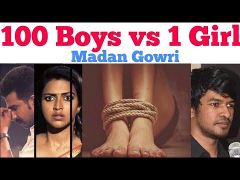 100 Boys vs 1 Girl | Tamil | Junko Furuta | Madan Gowri | MG