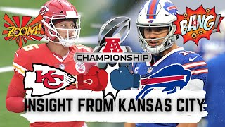 Bills vs. Chiefs; What they're saying in Kansas City