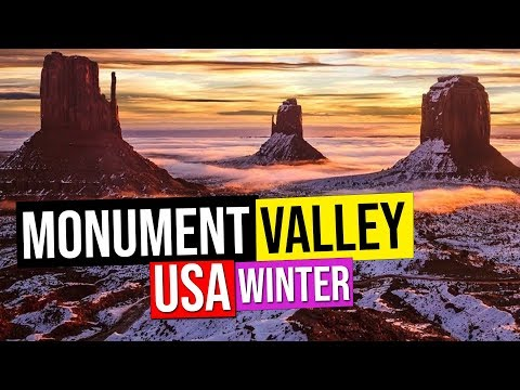 Monument Valley Sunrise, Utah, USA. Time-lapse.