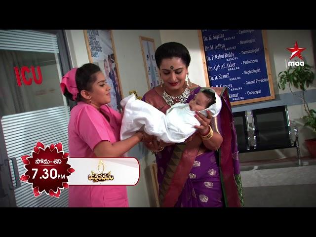 అమ్మవారి ఆశిశులతో దీప కి మహాలక్ష్మి పుట్టింది ❤️  #KarthikaDeepam Today at 7:30 PM on Star Maa