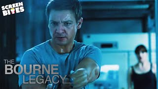 Bourne Legacy | That Fight Scene | Jeremy Renner and Rachel Weisz