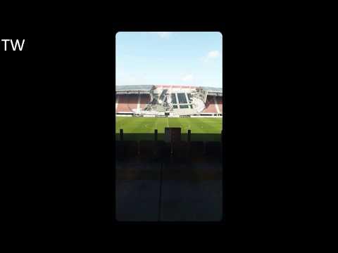 AZ Stadion Ingestort | AZ Alkmaar Stadium Collapsed