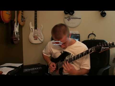Steve Vai's Blood and Glory Solo Cover by M3RKMUS1C