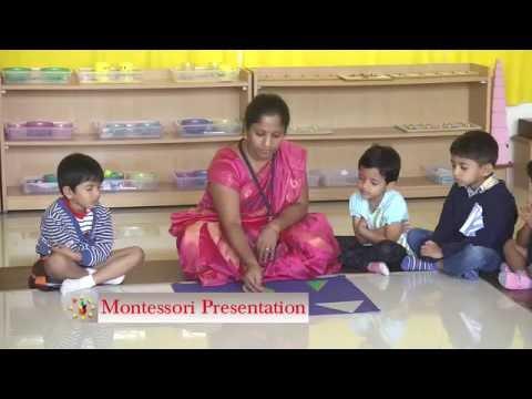Montessori Presentation at The Foundation School, Bangalore