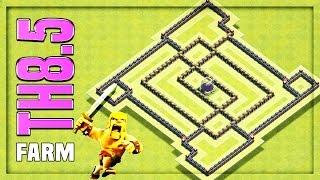 TH8.5 [Town Hall 8.5] Farming Base #6 🔸 TH8.5 HYBRID BASE 🔸 Clash of Clans