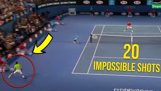 Rafael Nadal - 20 Shots In Grand Slam If Were Not Filmed, Nobody Would Believe Them