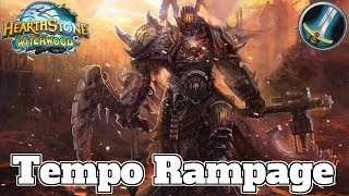 Enrage Tempo Rush Warrior Witchwood | Hearthstone Guide How To Play