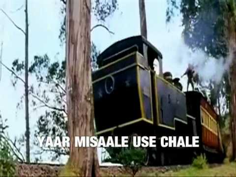CHAL CHAIYAN CHAIYAN( Karaoke) Edited by Kay Hares.wmv