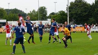 Prima zege Jong Ajax in eerste oefenduel