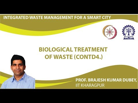 Lecture 33 : Biological Treatment of Waste (Contd4.)