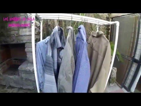 Tendedero de ropa port til los hobbies de yola youtube - Tenderos de ropa ...