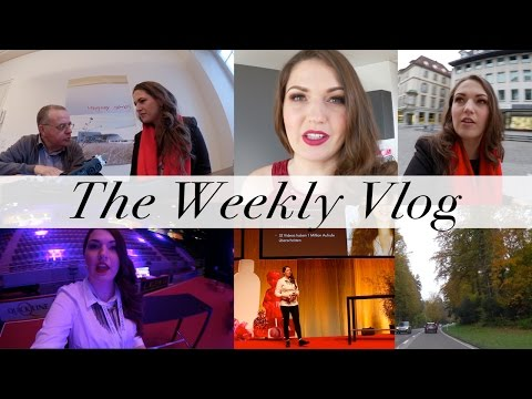 My Crazy Week! Lectures, Interviews, Events | Weekly Vlog