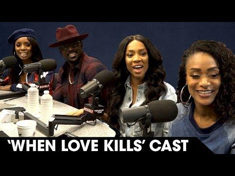 Tasha Smith, Lil Mama, Tami Roman & Lance Gross Discuss Their Roles In 'When Love Kills' & More