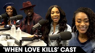 Tasha Smith, Lil Mama, Tami Roman & Lance Gross Discuss Their Roles In 'When Love Kills' & More