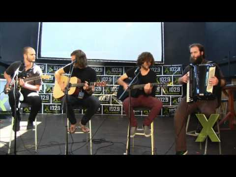 """X102.9 Presents: KONGOS """"Come With Me Now"""" (acoustic)"""