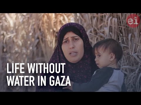 Life without water in Gaza