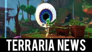 Terraria Boss in 3D! 1.3.4 Dungeon Defenders Crossover!