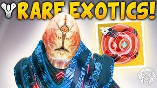 Destiny 2: NEW MYSTERY EXOTICS & QUEST UNLOCK! Extremely Rare Loot, New Aura & Polaris Update