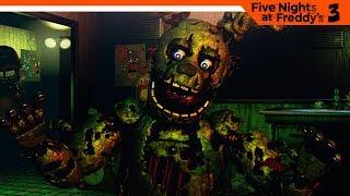 фНАФ 3 - КАК ЭТО ПРОЙТИ? 3 НОЧЬ  Five Nights at Freddy's 3 (FNAF) Прохождение на русском