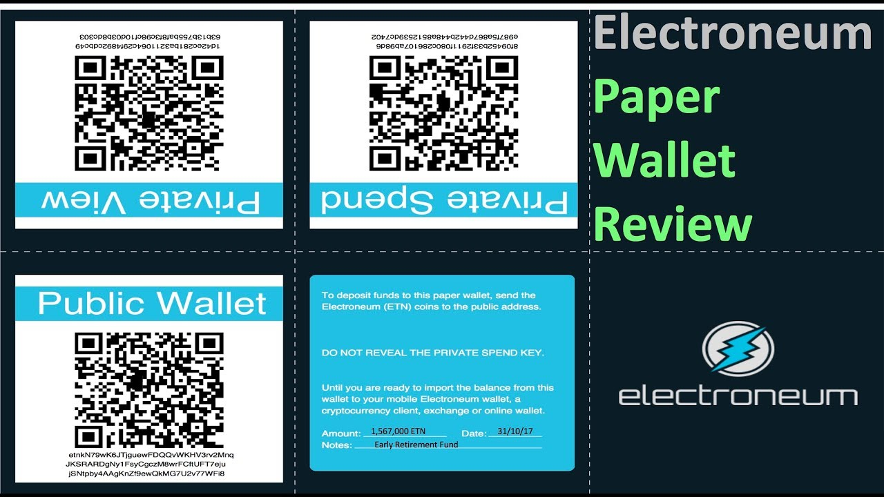 how to transfer cryptocurrency from paper wallet
