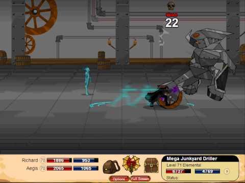 Dragon Fable Soul Weaver Class