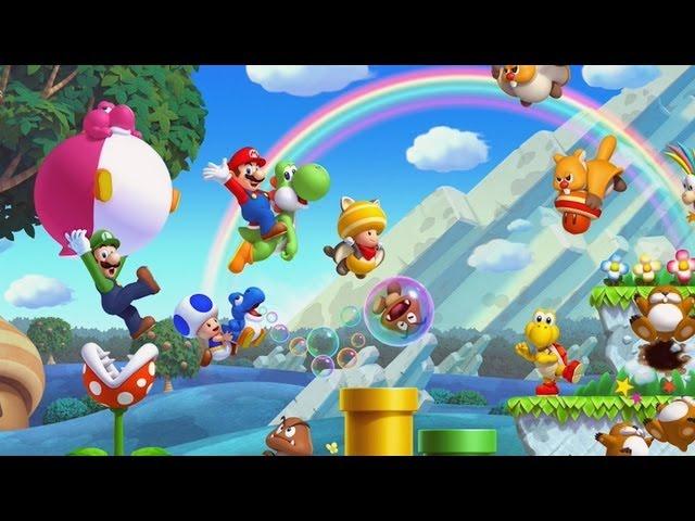 Gamespot Reviews New Super Mario Bros U Youtube