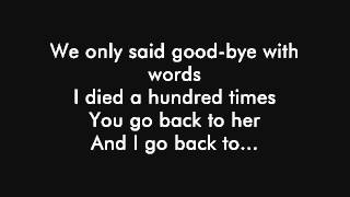 Repeat youtube video Back to Black AMY WINEHOUSE lyrics