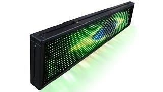 Painel de LED Letreiro luminoso Colorido RGB