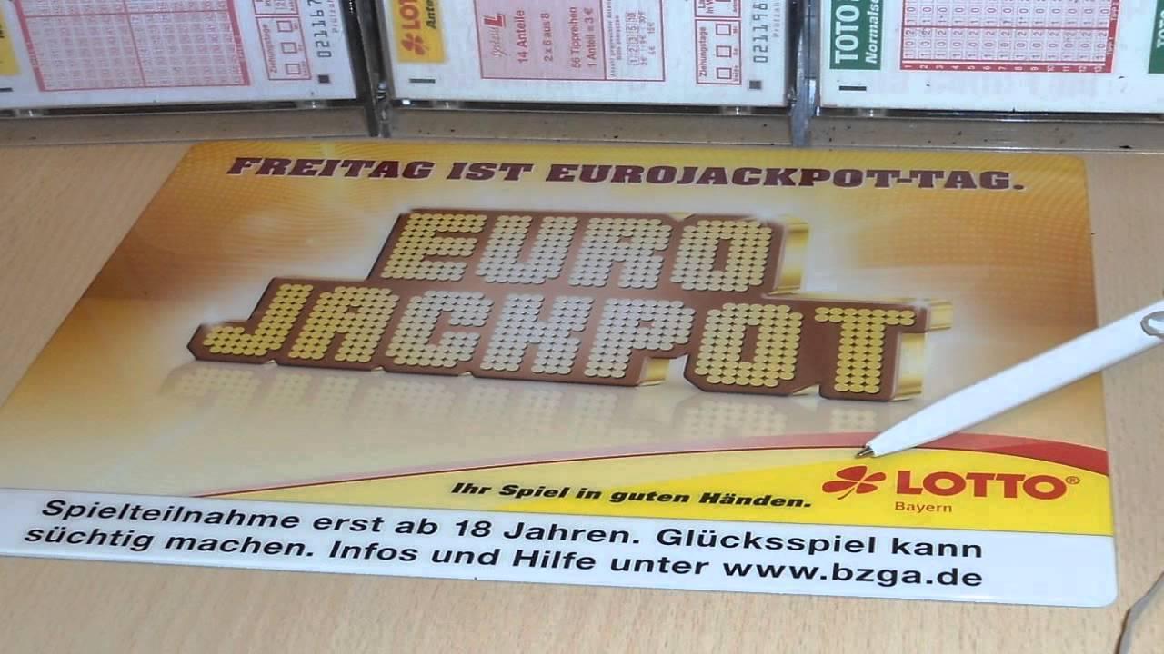 Lotto Eurojackpot Heute
