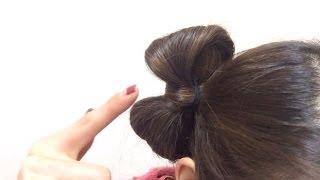 【girls diary】簡単 自分で出来る リボンヘア 作り方  アレンジ ♪ by milpate女子のためのハッピーチャンネル