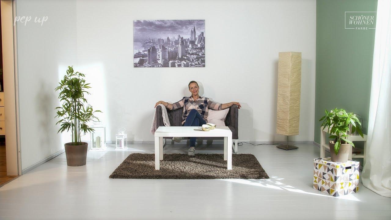 Schoner Wohnen Pep Up Renovierfarbe Fur Holzboden Treppen Youtube
