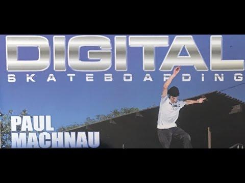 "DIGITAL SKATEBOARDING ""Difference"" 2002 Paul Machnau"