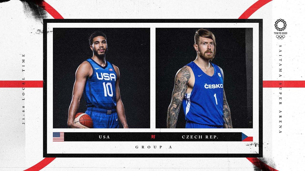 Download USA v Czech Republic - Watch along party | #Tokyo2020 ⚡ #Basketball