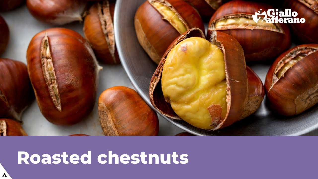 Download ROASTED CHESTNUTS IN THE OVEN (easy to peel!)