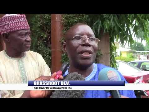 GRASSROOT DEVT: DON ADVOCATS AUTONOMY FOR LOCAL GOVERNMENT AREAs