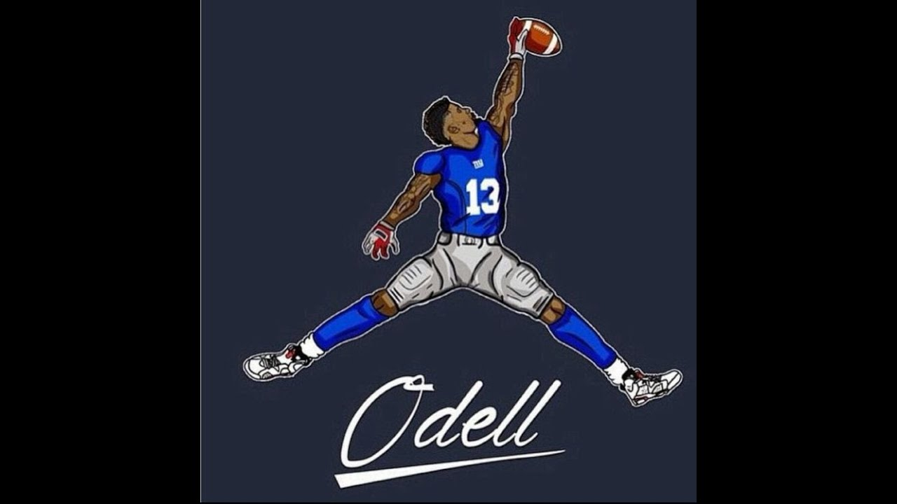 How To Draw Odell Beckham Jr Youtube