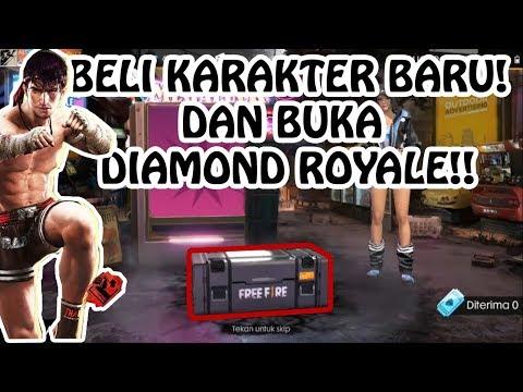 SULTAN JONGGOL BELI KARAKTER BARU DAN BUKA LUCK DIAMOND!! (FREE FIRE INDONESIA)