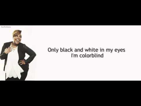 Glee - ColorBlind | LYRICS