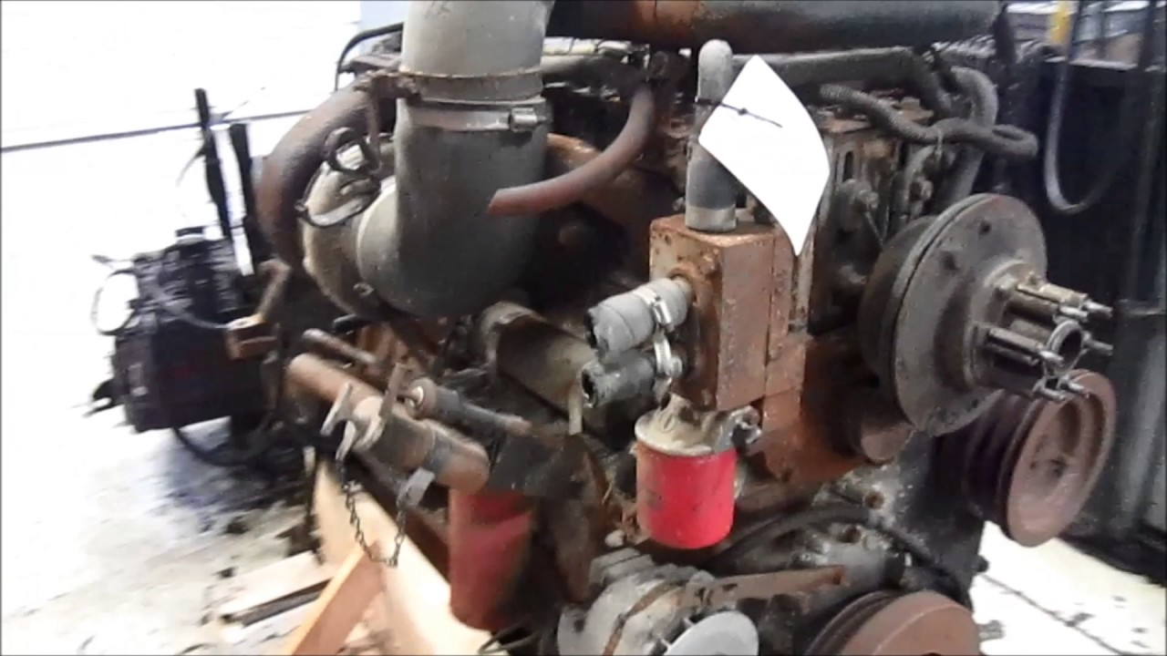 1990 Cummins Big Cam IV Engine - YouTube