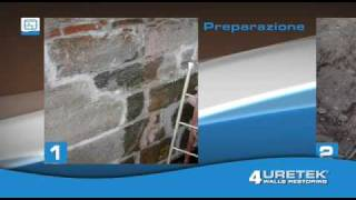 Sistema Brevettato URETEK Walls Restoring