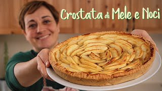 APPLE AND WALNUT PIE BUTTER FREE - Homemade by Benedetta