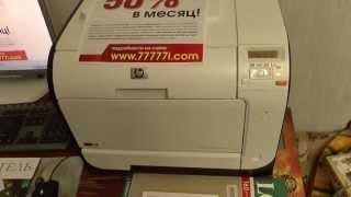 Обзор цветного принтера HP Laser Jet Pro 400 Color M 451 nw