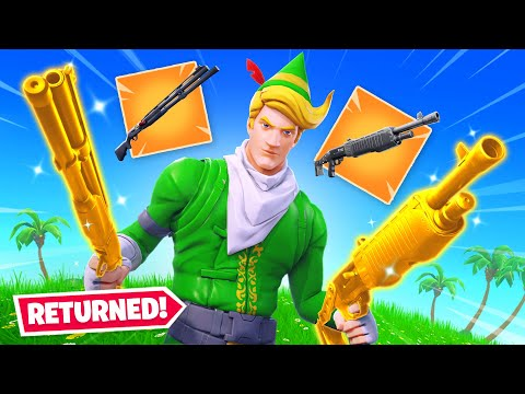 Combat and Pump Are BACK in Fortnite!
