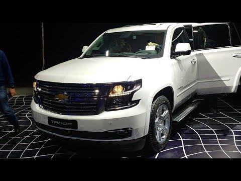 Chevrolet TAHOE Va TRAILBLAZERga Birinchi Nazar. Taqdimotdan Birinchi Video.