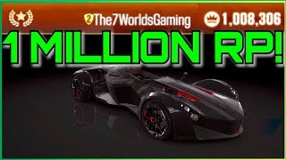 HOW TO GET 1 MILLION RP! | CSR Racing 2
