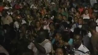 """Papa San Live """"Tambourine"""" Barbados Gospelfest 2010"""