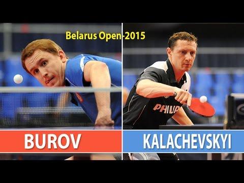 Viacheslav BUROV (RUS) - Denis KALACHEVSKYI (UKR). Belarus Open 2015