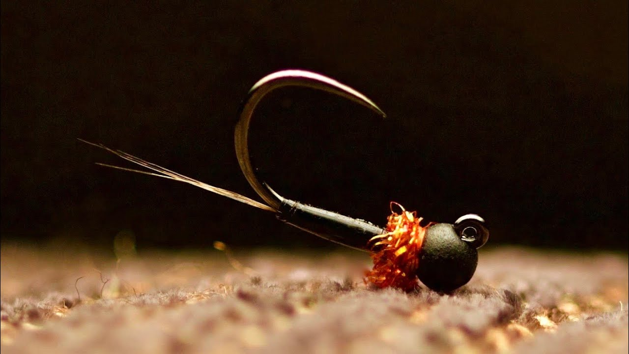 Euro Fly Fishing High Quality Tungsten Beaded Open Wound Jig Nymph 10 Flies