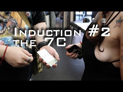 The Induction, 7C #the52, BOOB action, and friends. Vlog( X )