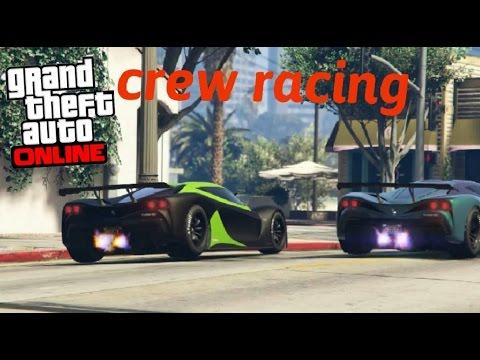 Grand Theft Auto 5: crew racing | rockstar editor